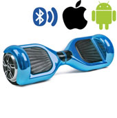Гироскутер Hoverbot A-3 Premium Light Blue Metallic 6.5''
